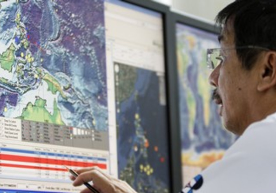 Seismology agency office in the Philippines