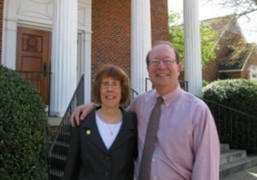 Rabbi Lynne Goldsmith and husband Rob.