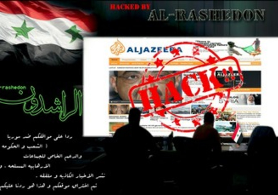 Al Jazeera site hacked