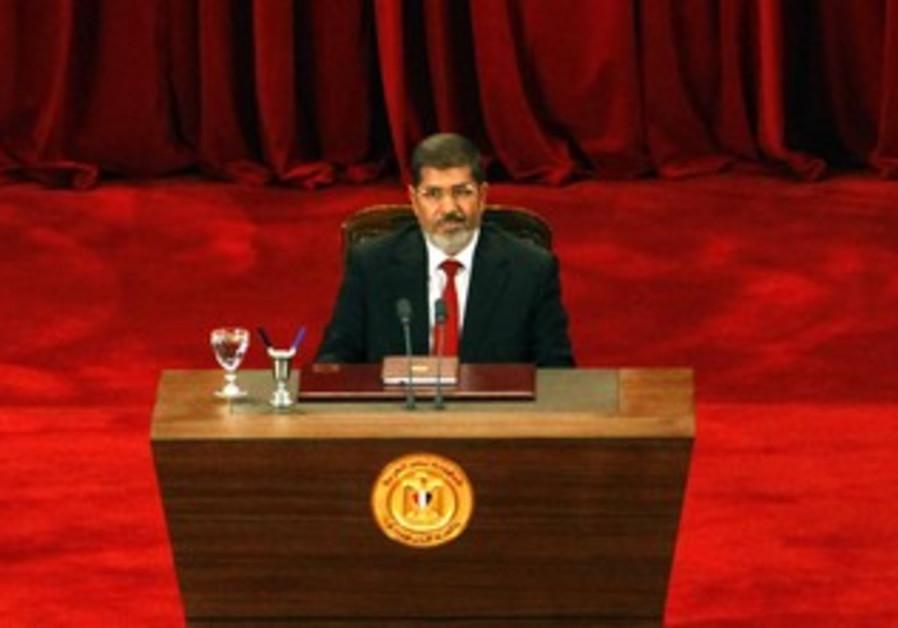 Egyptian President Mohamad Morsy
