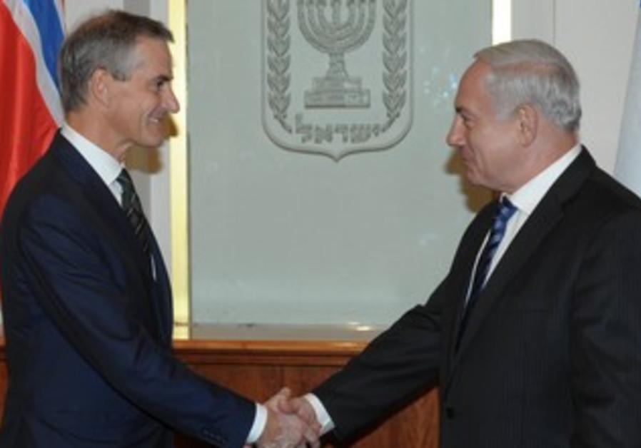 PM Netanyahu with Italian FM Terzi