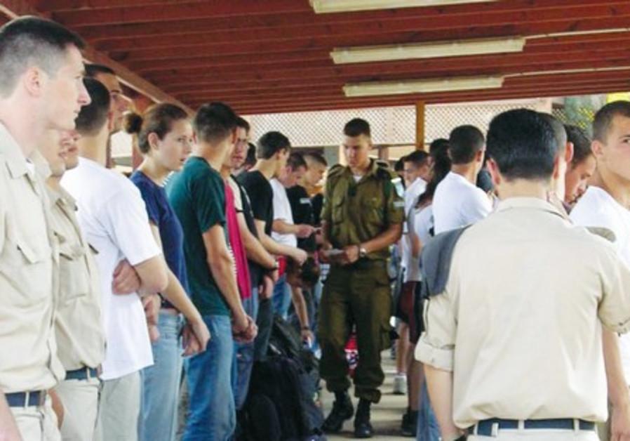 New IDF recruits