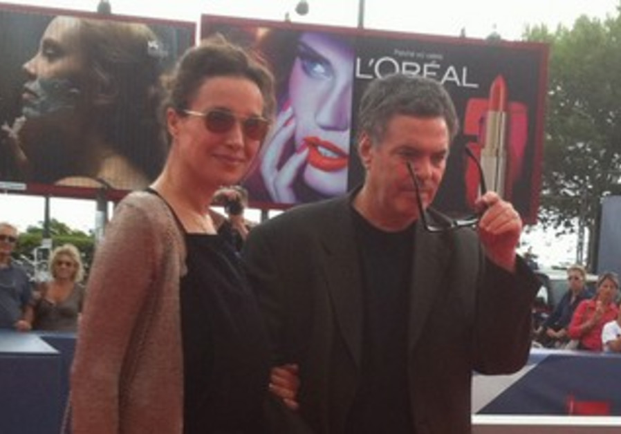 Amos Gitai and Yael Abecassis