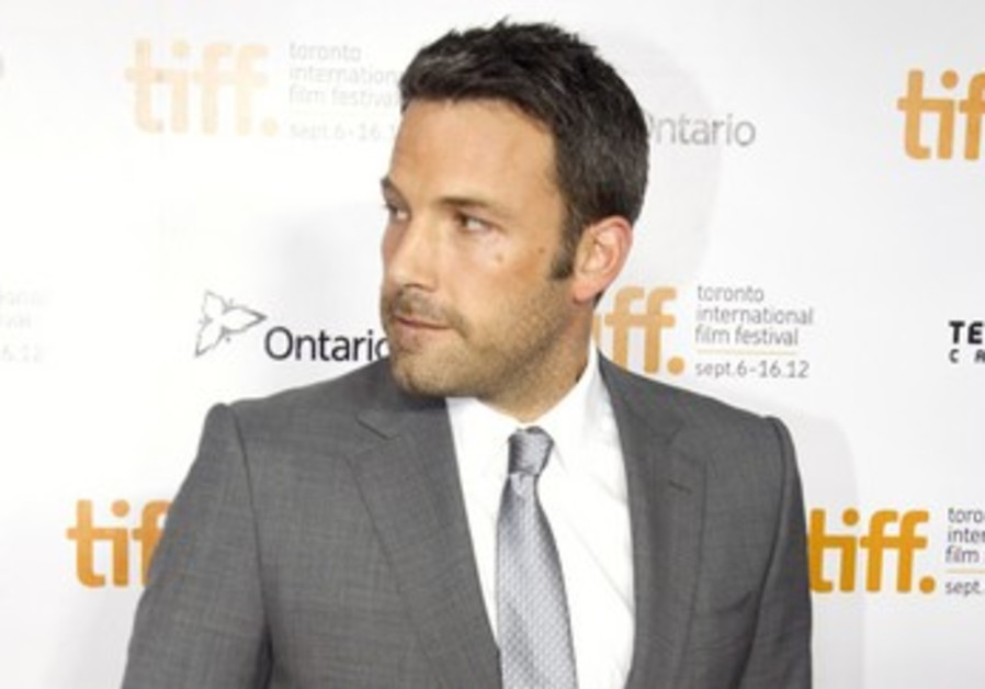 Ben Affleck arrives at  gala presentation for Argo