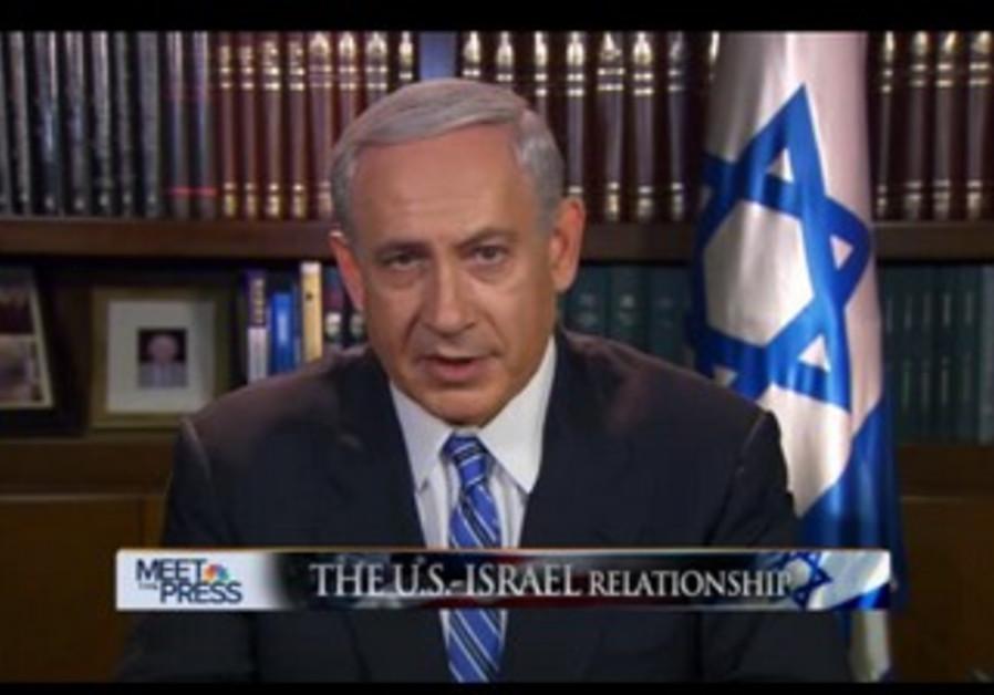 "PM Netanyahu on ""Meet the Press"""