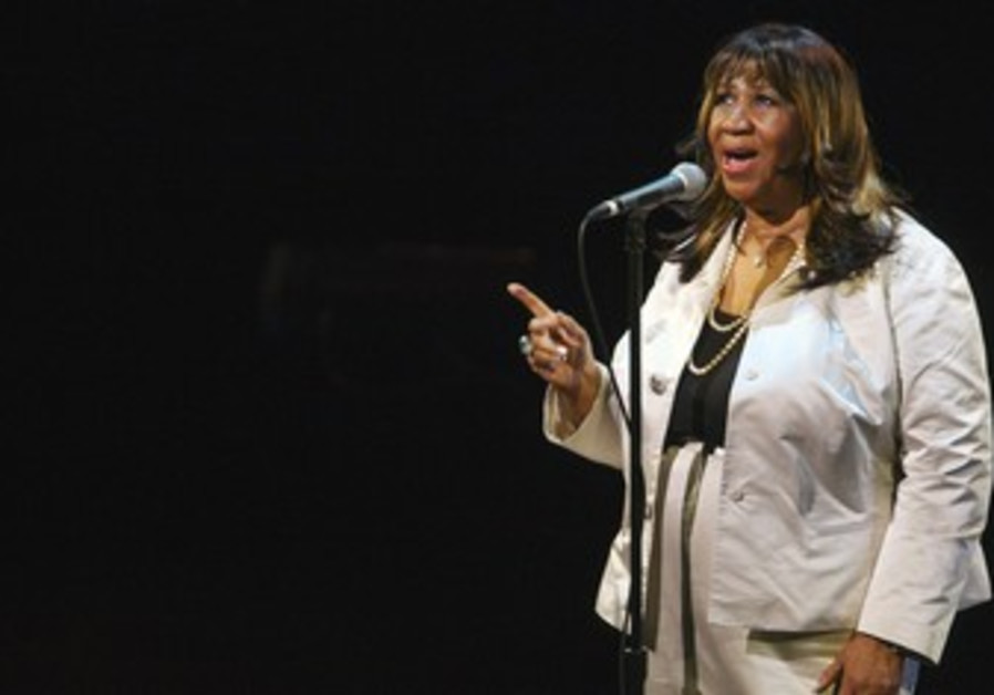 Franklin performs during Marvin Hamlisch tribute