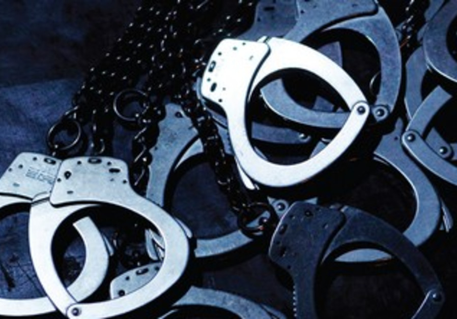 Handcuffs (illustrative photo)