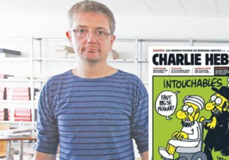 FRENCH CARTOONIST Charb