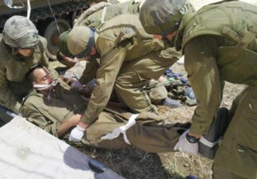 IDF drill in Golan
