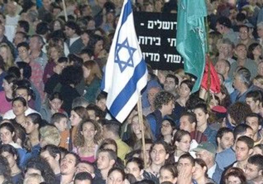 Tel Aviv memorial for Yitzhak Rabin in 2001