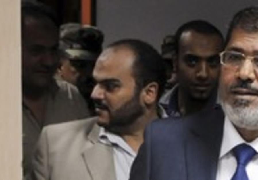 Egyptian President Mohamed Morsy [file photo]