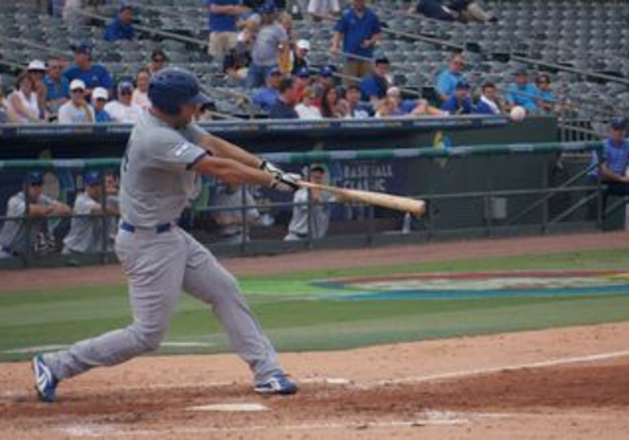 First baseman Nate Freiman