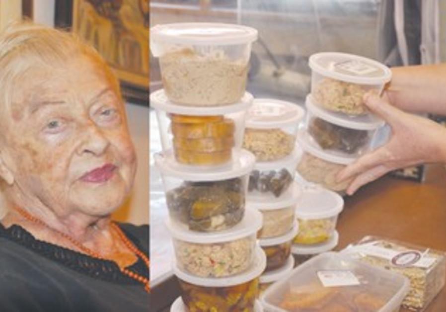 BERTHA SPOREN, food deliveries