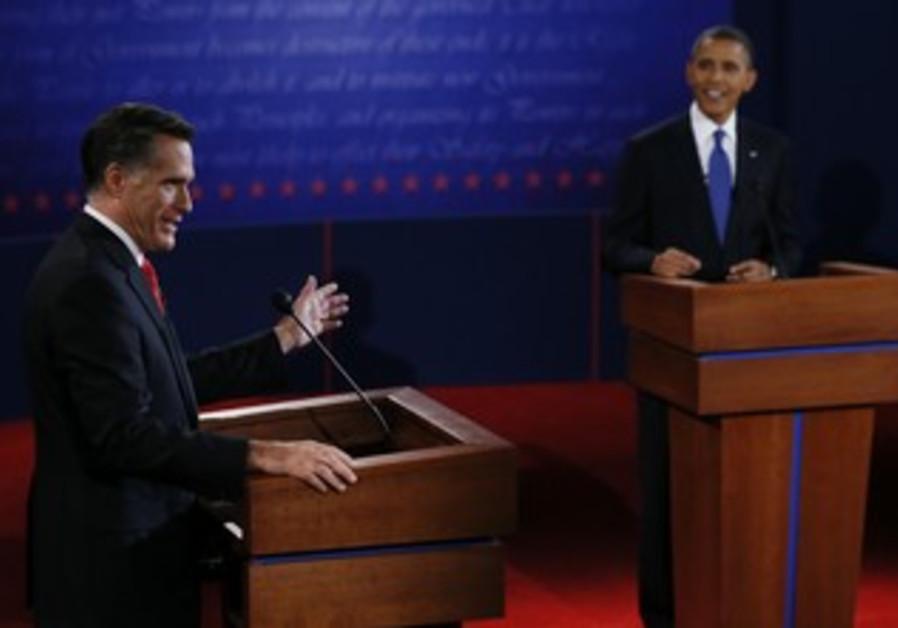 Obama and Romney duel at US presidential debate