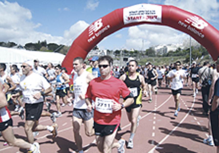 Israel leads the way in humid half marathon