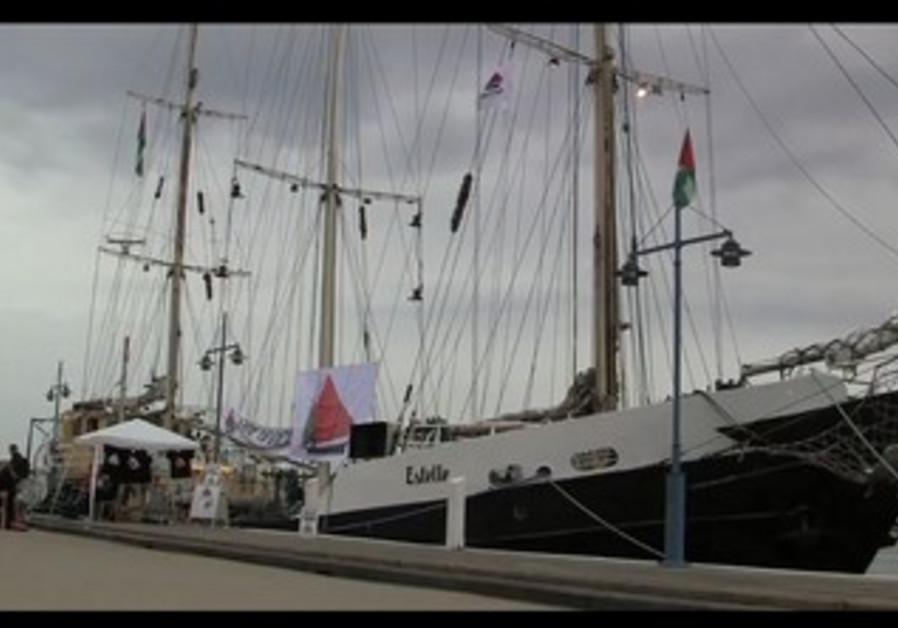 Estelle Ship heading for Gaza