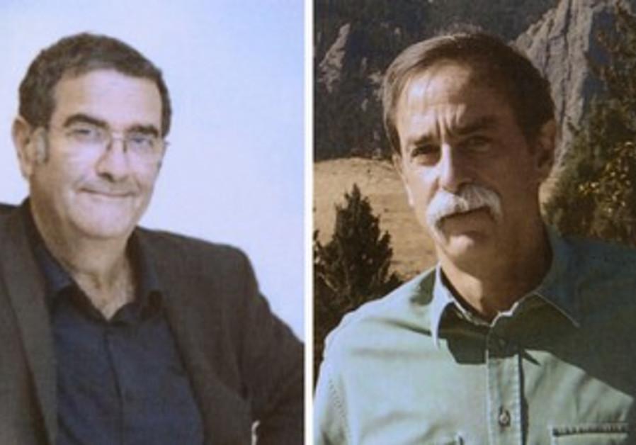 Nobel prize winners: Haroche (left,) Wineland