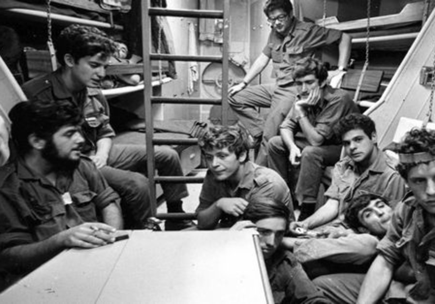 L'équipage de la marine israélienne à bord