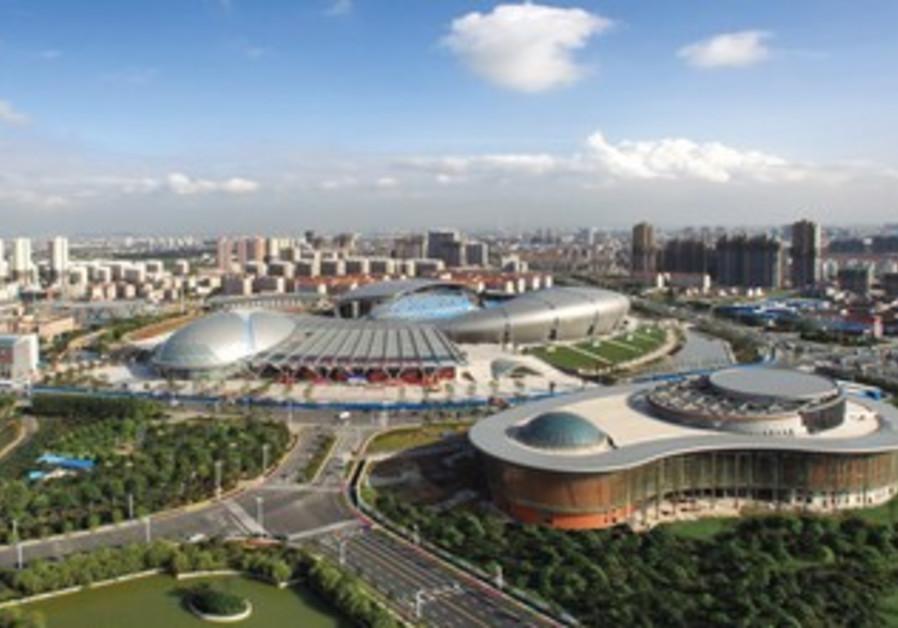 A VIEW OF the Wujin Economic Zone area