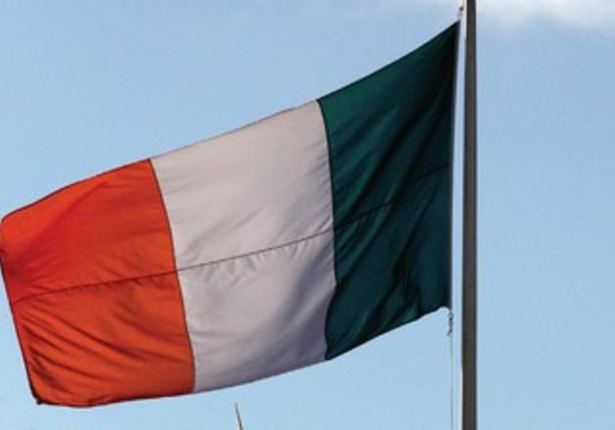THE IRISH flag flies
