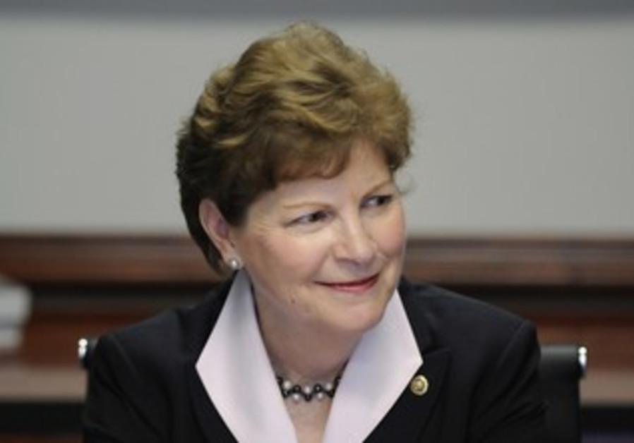US Senator Jeanne Shaheen