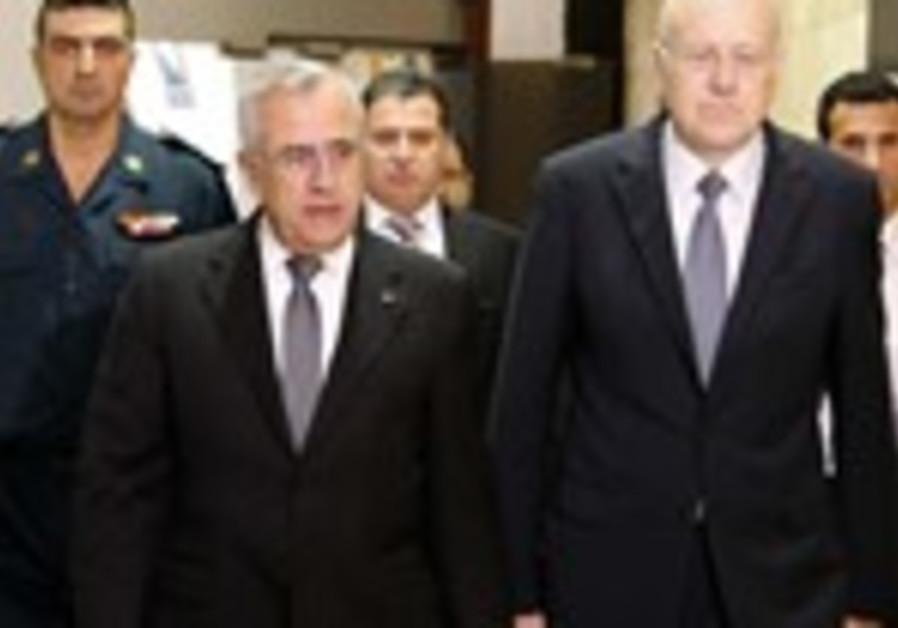 Lebanon's President Suleiman and PM Mikati