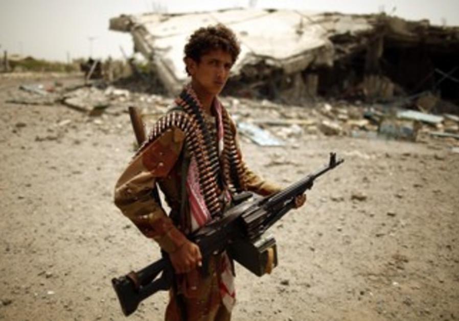 soldier in yemen