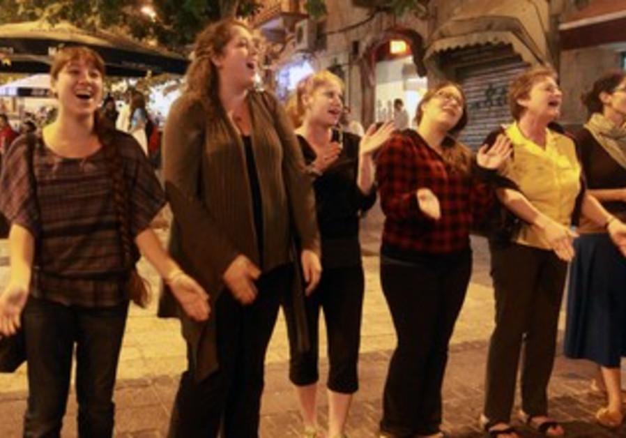 Women of the Wall Flashmob