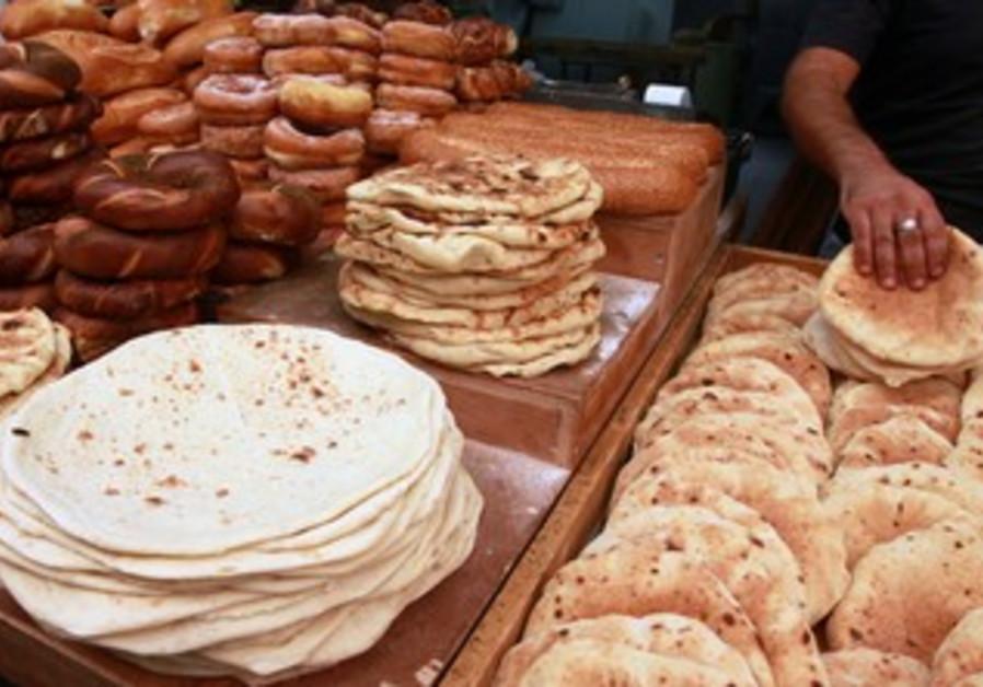Bread at Machane Yehuda market