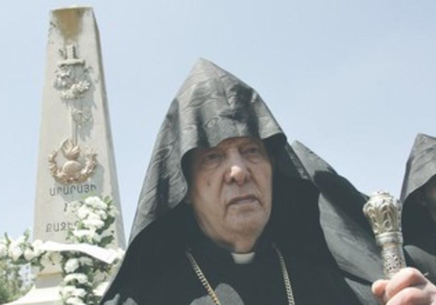 Former Armanian patriarch