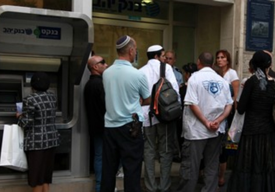 bank waiting opening