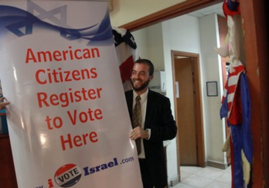 American expats voting in israel