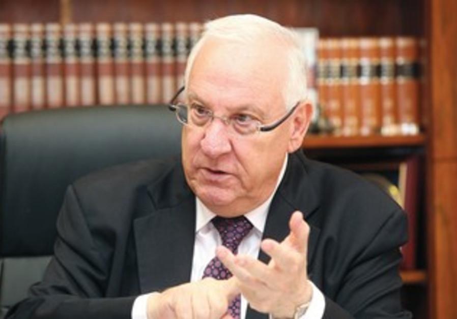 Likud MK Reuven Rivlin