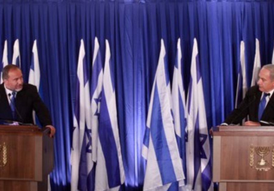 Netanyahu and Liberman announce parties uniting