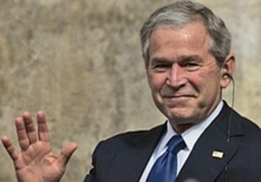 Bush to visit Israel, Saudi Arabia, Egypt in May
