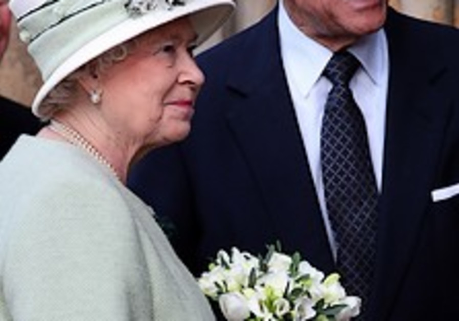 British queen's husband still in hospital