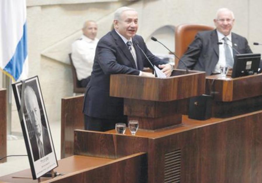 Débat houleux à la Knesset au sujet de Rabin 521
