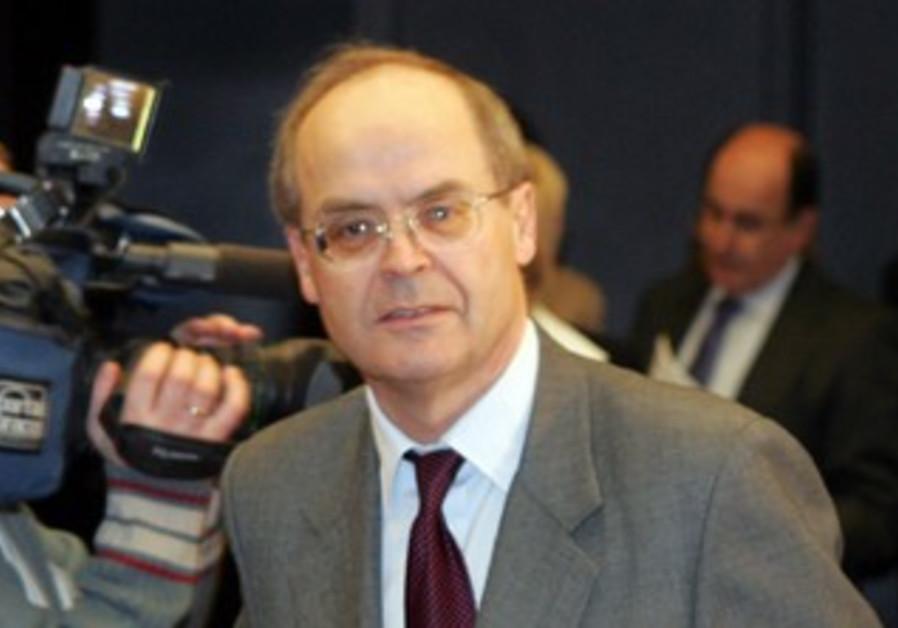 Former British ambassador Peter Jenkins [file]