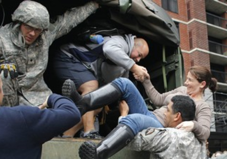 US soldiers help rescue New Jersey residents