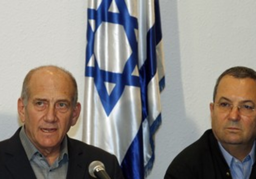 Olmert, Barak