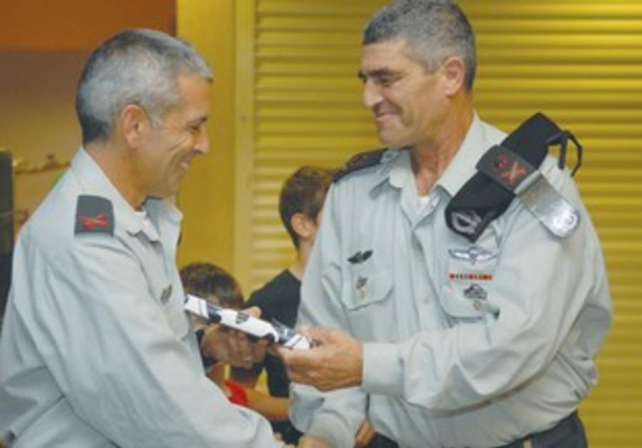 Maj.-Gen. Tal Russo and Brig.-Gen. Micky Edelstein