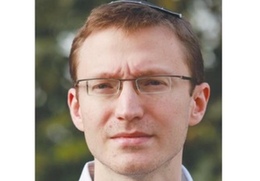 Likud primary candidate Daniel Tauber