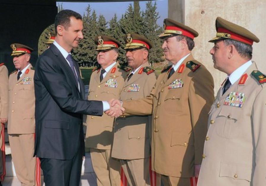 Assad and generals 521