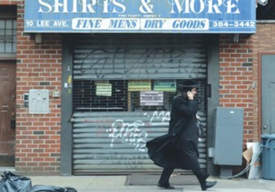 Orthodox man in Brooklyn