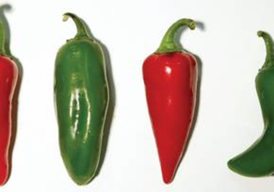 The flavor of chilies