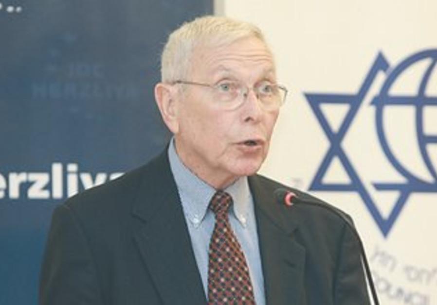 Former ambassador to the US Moshe Arad.