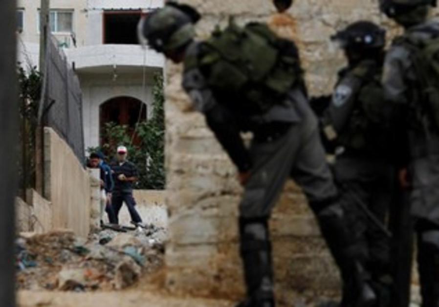 Israeli border policemen (illustrative)