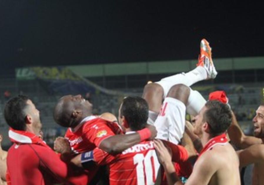 HAPOEL TEL AVIV players celebrate