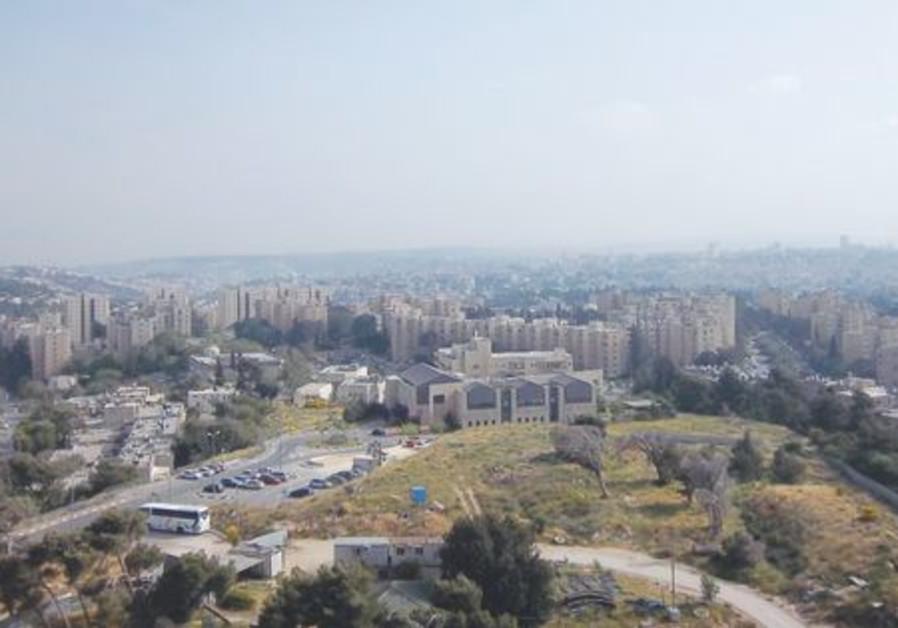 Vue de Guivat Hamivtar