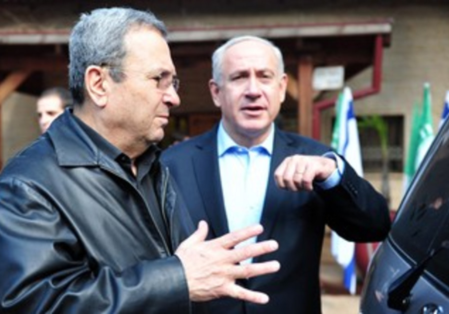 Barak Netanyahu at Syrian border.
